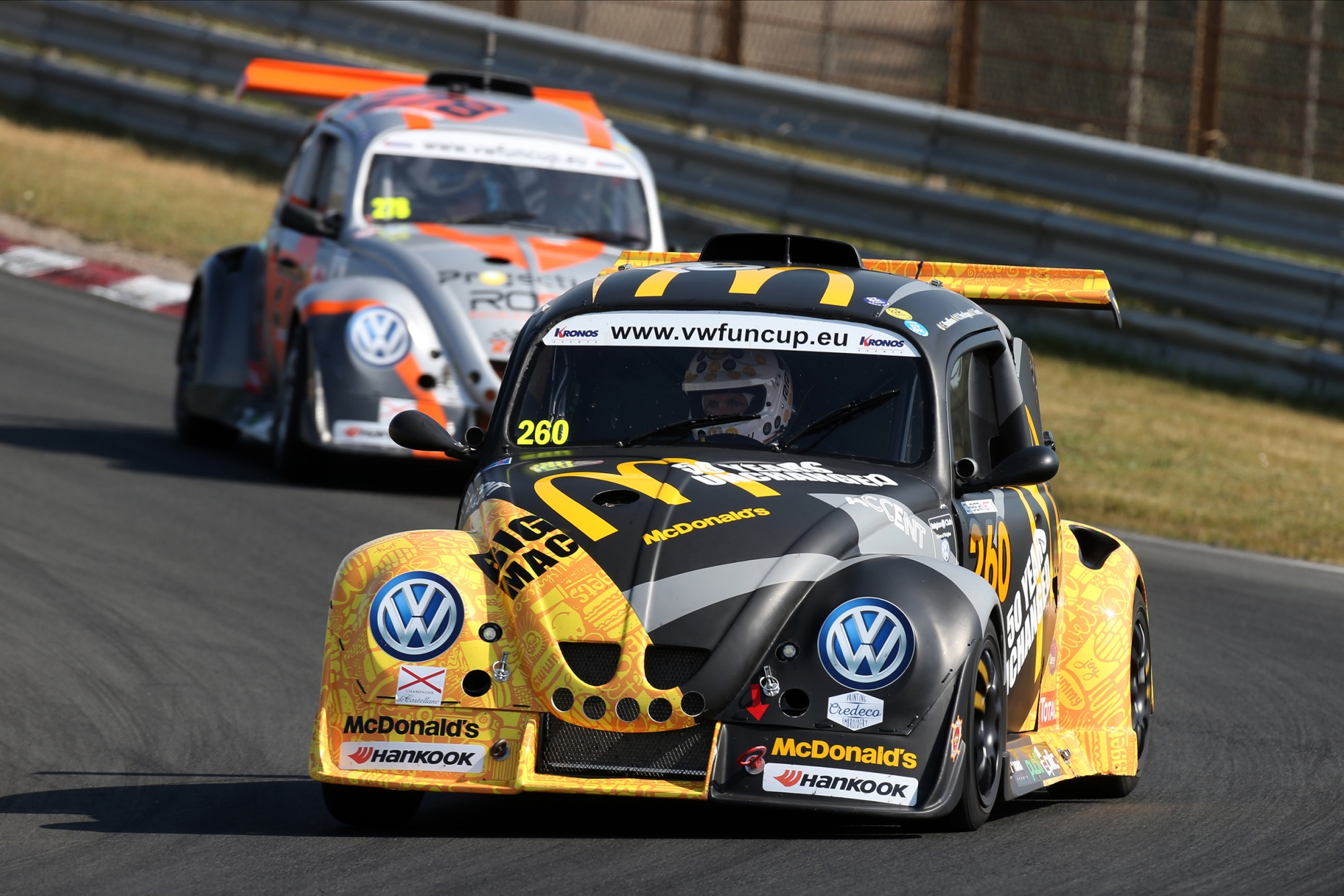 image 1 - McDonald's Racing, Lovin' the VW Fun Cup, encore et toujours !
