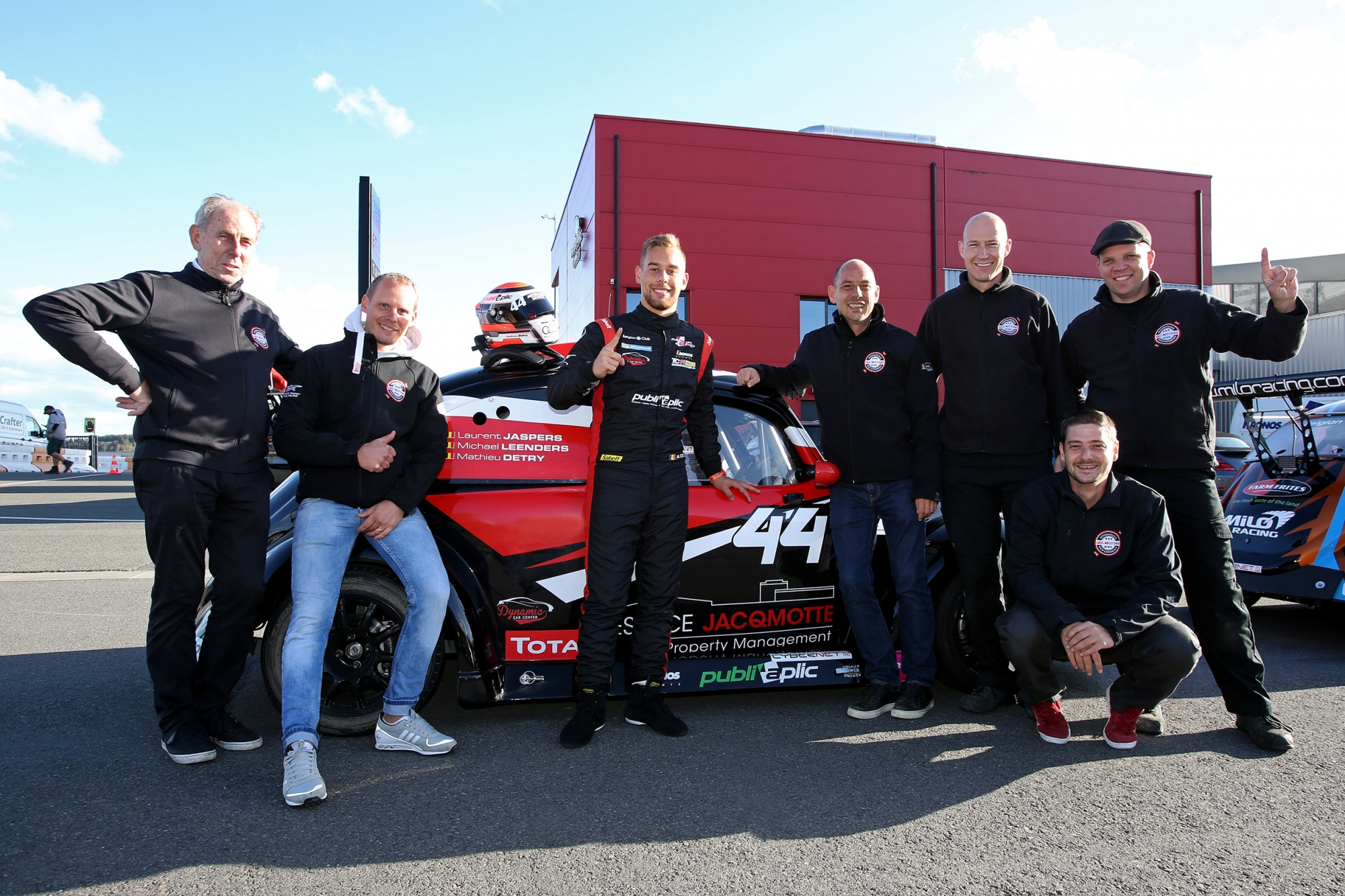image 0 - Pole position et record du tour pour Mathieu Detry (#44 JAC Motors 1)