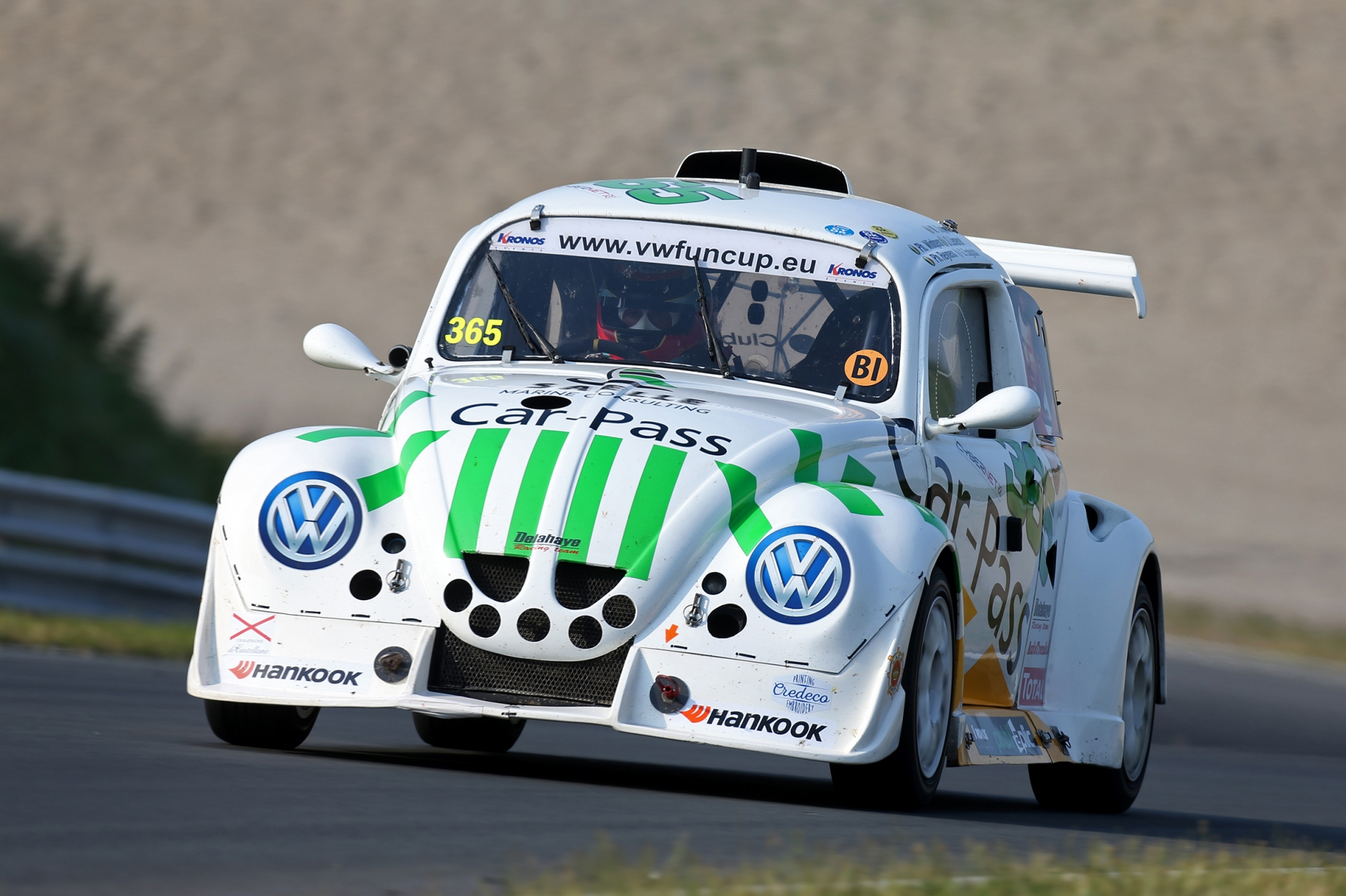 image 3 - Socardenne by Milo grabs the Pole Position in Zandvoort