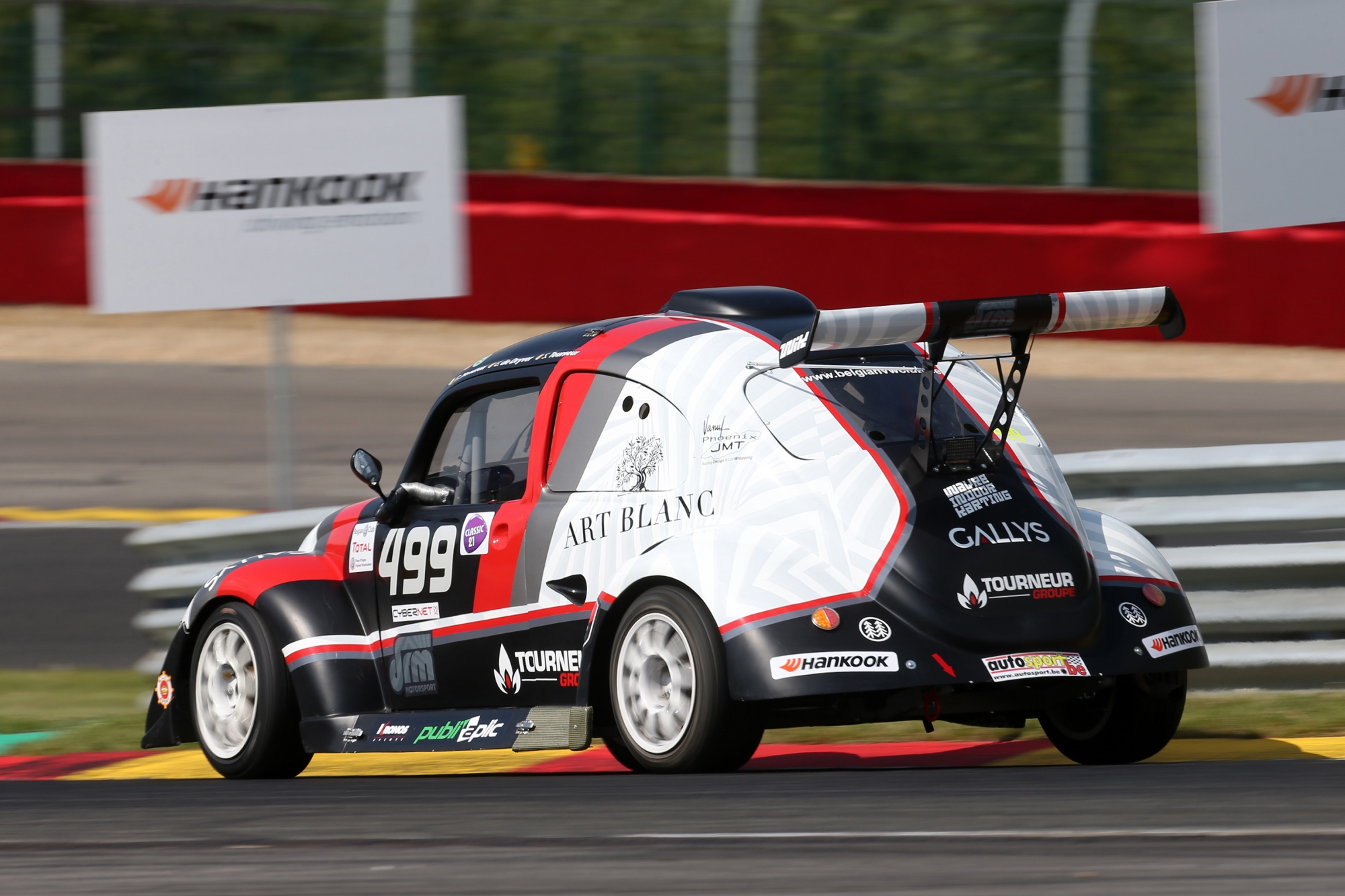 image 2 - The sticker plan for the Hankook 25 Hours VW Fun Cup is available!