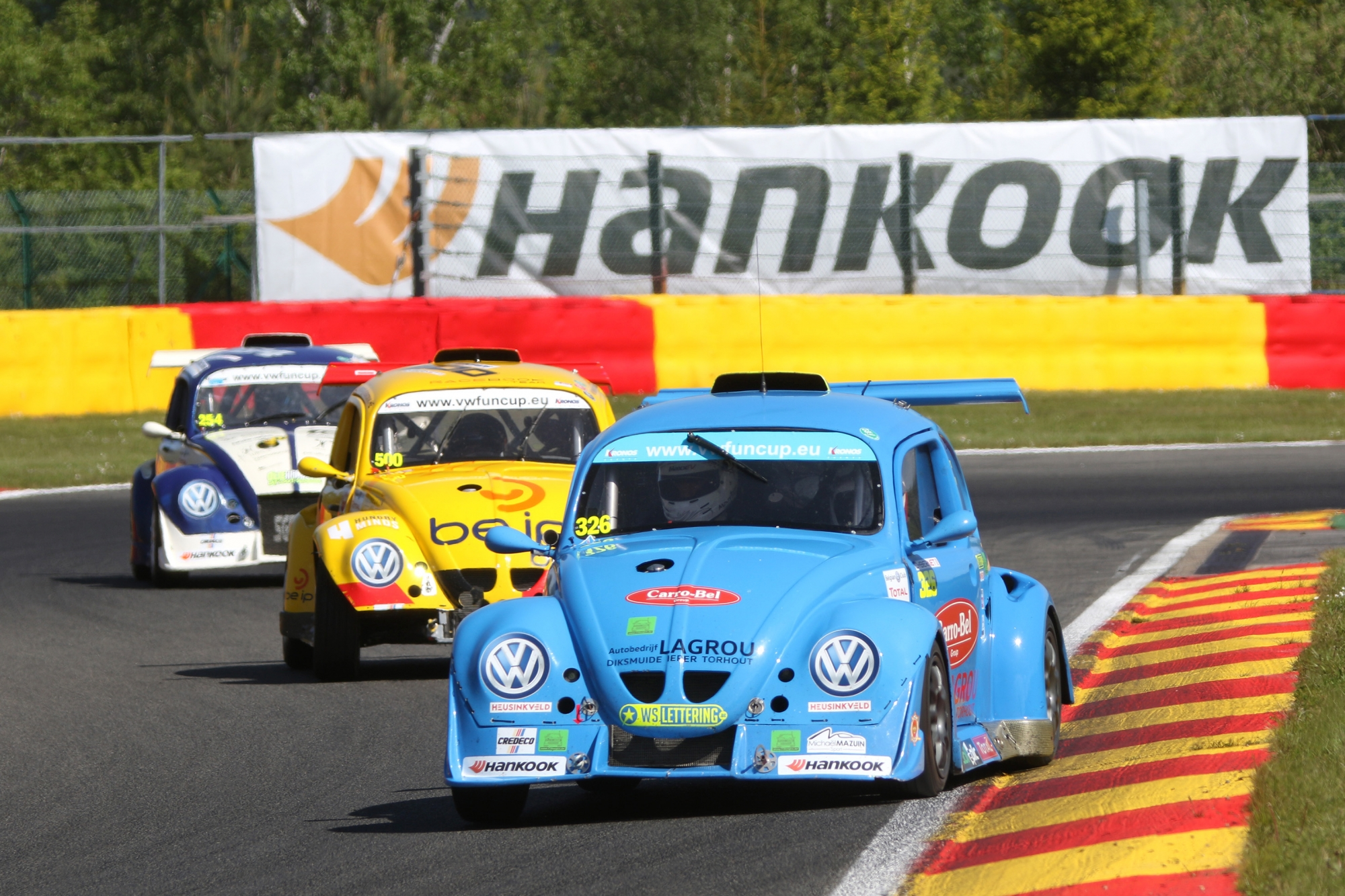 image 1 - WCB Racing en route pour les Hankook 25 Hours VW Fun Cup