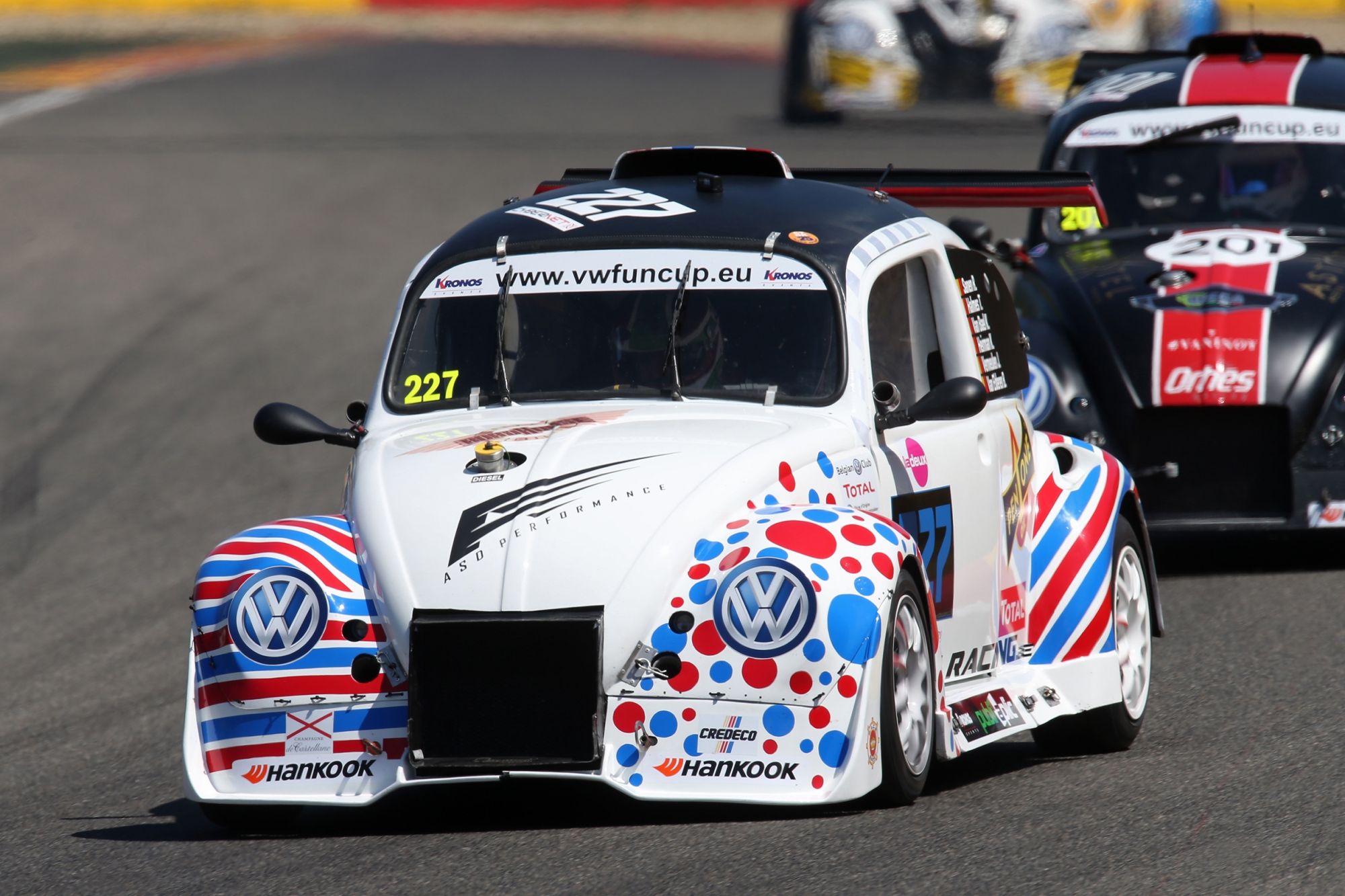 image 1 - JUSI Racing engagé en Evo2 aux 25 Hours VW Fun Cup