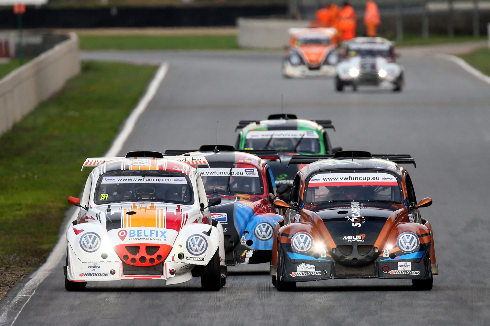 image 1 - Un format spectaculaire pour la VW e-Fun Cup powered by Hankook