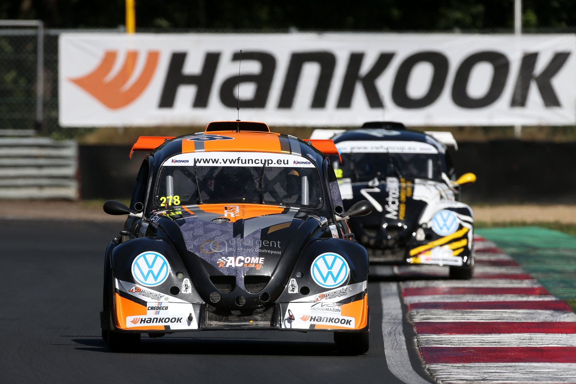 image 1 - La VW Fun Cup powered by Hankook prendra un nouveau départ en 2021 !